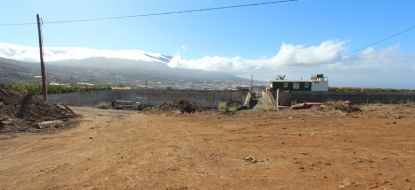 Building plot incl. license 730 La Palma