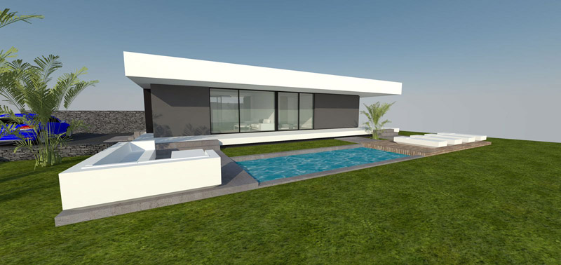 Property incl. new housing 725 La Palma - 1