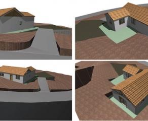 Grundstück inkl. Neubau 727 La Palma