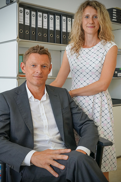 Volker Horch y Jeanette Augner